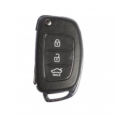 Cover Chiave Guscio Telecomando 3 Tasti Chiavi Auto Hyundai I20 I30 IX20 IX35