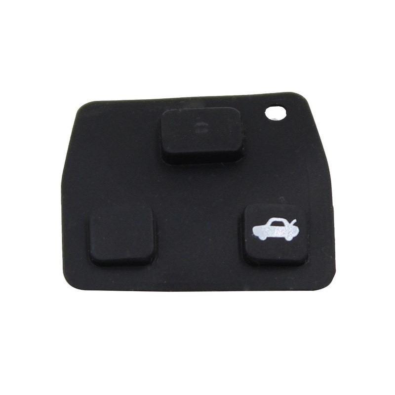 TOYOTA 3 BUTTONS RUBBER BUTTON