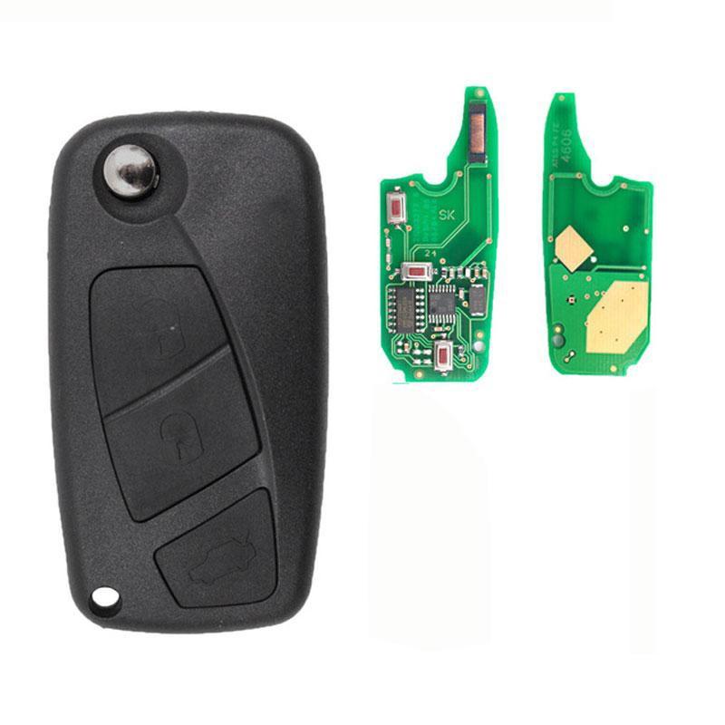 Remote Control 3 Keys Fiat Bravo Duchy Line Stylus Point Jumper Relay Boxer Ypsilon