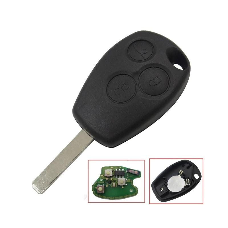 RADIO CONTROL CAR RENAULT 3 BUTTONS 433MHZ LAMA VA2