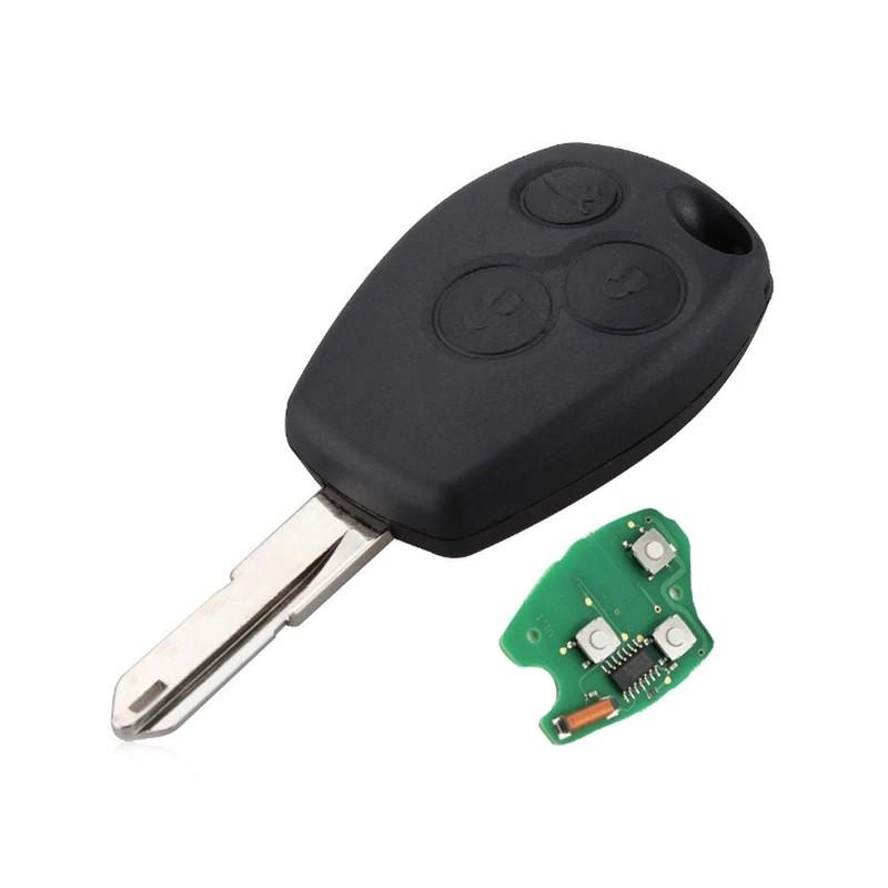 RADIO CONTROL CAR RENAULT 3 BUTTONS 433MHZ LAMA NE73