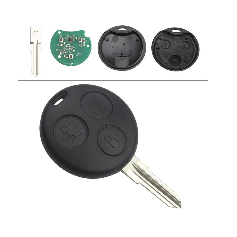 RADIO CONTROL CAR SMART 3 BUTTONS 433MHZ LAMA YM28