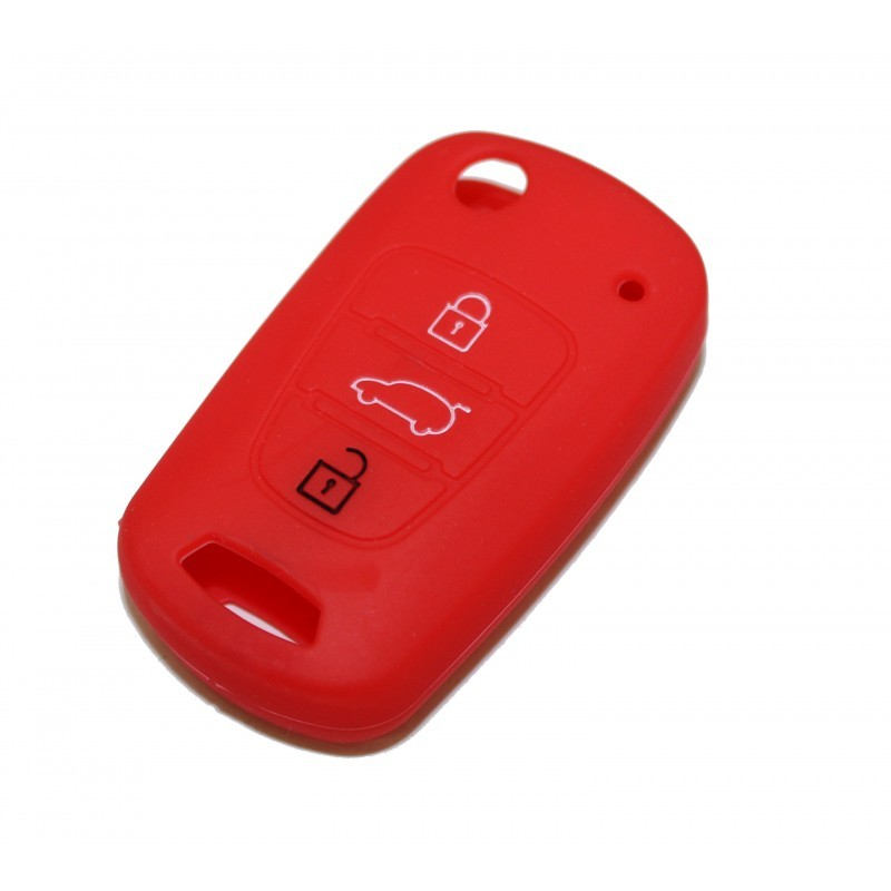 1 IN SILICONE HYUNDAI 3 RED BUTTONS