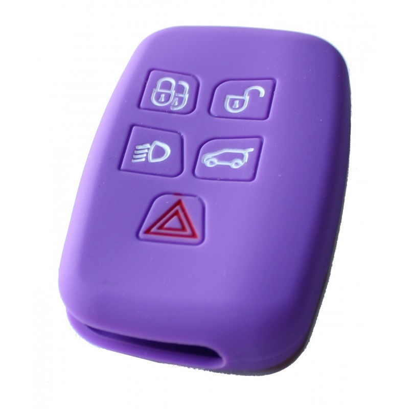 SILICONE LANDROVER 5 PURPLE BUTTONS